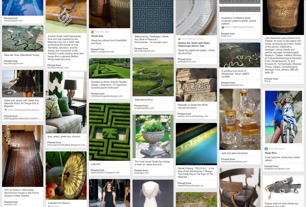 Meander Pinterest Board